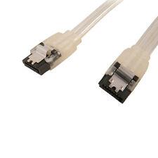"18"" SATA 6 Gbps Cable SDD HDD Straight Metal Latch SATA 3.0 SDD HDD Glow in Dark"