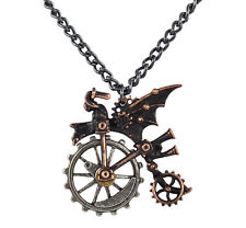 Ventus Traction Farthing Pendant (Retired) - Alchemy Gothic Steampunk
