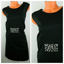 Ruby Rd. Dress 20W 2X Embellished Black Bronze Evening Cocktail Party    i