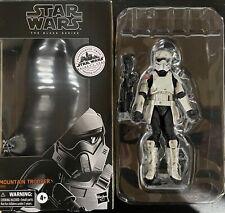 "Star Wars Mountain Trooper Galaxy's Edge Exclusive Black Series 6"" Great Shape"