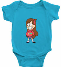 Infant Baby Girl Bodysuit Gift Print Cute Gravity Falls Mabel Pines Smile Happy