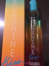 New Avon Ladies Sunshine Kiss EDT 50ml In Box free Postage