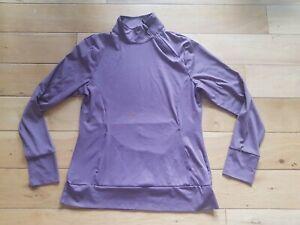 Kyodan Dusky Purple Yoga Top Size Medium