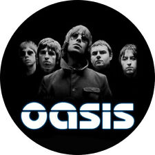 CHAPA/BADGE OASIS . liam gallagher beatles teenage fan club ash blur stone roses