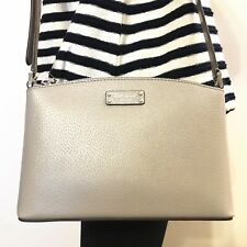 NWT KATE SPADE Jeanne Crossbody Leather Bag Softtaupe WKRU6041