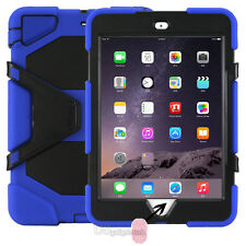 """""""Waterproof""""Case For iPad 2/3/4 Mini 123 air 1/2 Pro Shockproof Heavy Duty Stand"""