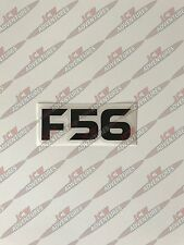 BMW Mini 3rd generación F56 model designation Negro Pegatina de vinilo por JCW Aventuras