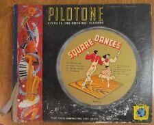 Vintage Vinyl: Square Dances - Pilotone Album # 131 - 78 rpm red vinylite (4)