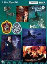 8 pc Harry Potter MAGNET SHEET /Gryffindor Crest Dementor Weasley Voldemort NIP