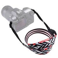 Universal Camera Shoulder Neck Belt Strap For SLR DSLR Digital Canon Sony S