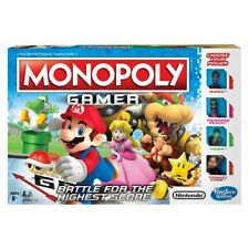 Monopoly Gamer Edition Board Game -Super Mario Brothers- Nintendo Characters