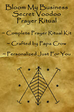 Blooming Business Voodoo Prayer Ritual Kit Success Money Sales Income Increase