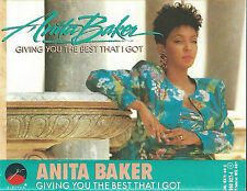 ANITA BAKER GIVING YOU THE BEST THAT I GOT CASSETTE ALBUM Smooth Jazz Rhythm & B
