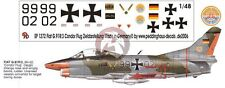 Peddinghaus 1/48 German Fiat G.91R/3 Markings Condor Flug Zieldarstellung 1272