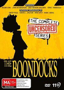 THE BOONDOCKS Season 1-4 (Region 4) DVD Complete Series Uncensored Collection