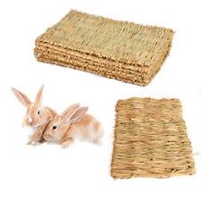Woven Grass Mat Rabbits Small Animals Natural Handmade Seagrass Mat Unique New
