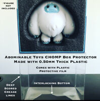 5 Pack - Abominable Toys Chomp Box Protector .50mm PET Acid-Free Plastic Funko