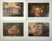 4 Plantations by RC Davis Houmas House, Rosedown, Oak Alley & Nottoway