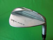 NICE TAYLORMADE ROCKETBLADEZ SINGLE GAP 50* WEDGE STIFF FLEX 85 GRAM STEEL