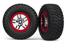 Traxxas 6873R Mounted BFGoodrich Mud TA Tires/Wheels Slash 2wd/4X4