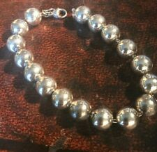 Silver Tiffany & Co ball bracelet