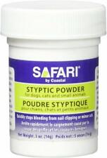 COASTAL SAFARI STYPTIC POWDER 1/2 OZ DOG CAT BIRD FERRET BLOOD NAIL. FREESHIPUSA