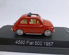 FIAT 500 , 1957 , rojo, 1:43 , SOLIDO
