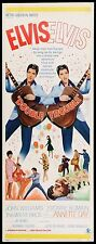 DOUBLE TROUBLE - 1967 - original ROLLED 14x36 Insert movie poster- ELVIS PRESLEY