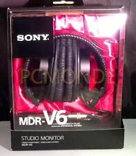 New Sony MDR-V6 Monitor Series Headphones CCAW Voice Coil