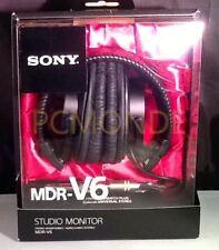 NUOVO Sony mdr-v6 CUFFIE MONITOR SERIE CCAW bobina mobile