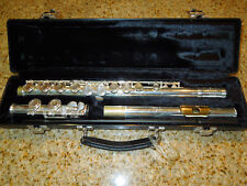 GEMEINHARDT 50 SERIES 52SP STUDENT FLUTE w Hard Case M20159 USA