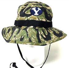 cd875860b1bb8 Nike Brigham Young BYU Cougars Rip Stop Tigerstripe Camo Boonie Hat Sz S M  Q3A