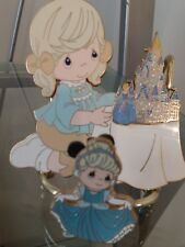 Precious Moments Disney A World of my own 2006 Event gift Jumbo Pin set  Signed