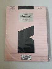 Kunert Ultra Sheer NAVY Tights Size Large FREE P&P