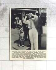 1955 Hong Kong Pedestrians Watch's Eclipse Through Smoked Glasses