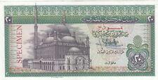EGYPT 20 EGP POUNDS 1976 1978 P-48 Hand sig/ IBRAHIM #15 AU/UNC SPECIMEN