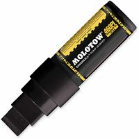 MOLOTOW 460PI - COVERSALL PUMP MARKER PEN - 15MM WIDE NIB - PERMANENT BLACK INK