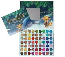 Santee Beautifice Pressed Pigment Palette - 63 Colors Makeup Palette, NEW