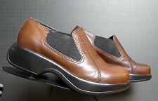 Women's Dansko Brown Leather Classic Clog Sz. 39/8.5 Excellent!