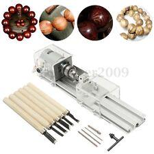 12Pcs 24V 100W Beads Polisher Lathe Machine Mini DIY Table Saw Woodworking Tools
