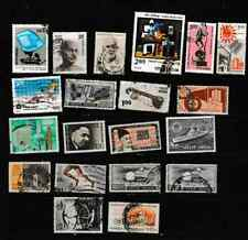 #3371=India Used selection of different Commemorative stamps