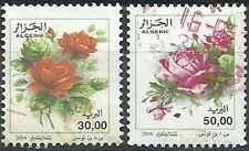 Timbres Flore Roses Algérie 1385/6 o année 2004 lot 19857 - cote : 4 €