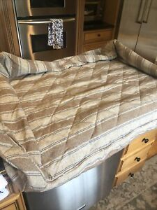 New Orvis  Bolster Dog Bed X Large Cover Only Cambria Stripe