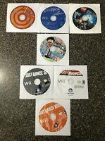 Nintendo Wii Bundle 7 Games - Lego Harry Potter + Just Dance + Carnival + MORE
