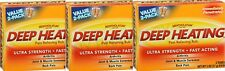 Mentholatum Deep Heating Pain Rub 2oz TWIN PACK ( 3 boxes ) 6 tubes total! ***