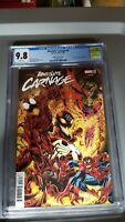 Marvel Absolute Carnage #5 CGC 9.8 Bagley Variant Cover