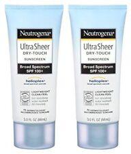 Neutrogena Ultra Sheer Sunscreen SPF 100 3oz 2pk