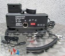 """Compressor Electric Pump Ball Pump 220V & 12V Operation """"High Quality"""" 54323"""
