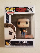 Funko Pop #572 Stranger Things Punk Eleven Box Lunch Exclusive w/ sticker