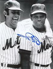 RON HUNT W/ MAYS NEW YORK METS SIGNED AUTOGRAPHED 8x10 PHOTO W/COA